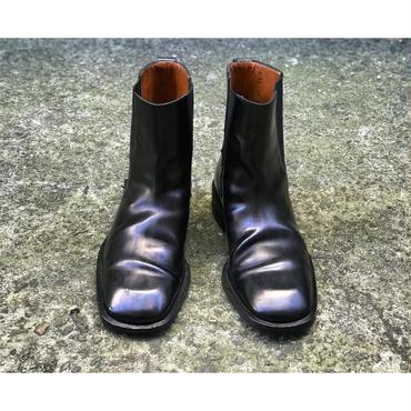 side gore boots ブラック イタリア製 表記7 1/2D