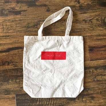 生成りキャンバスバッグ/RED