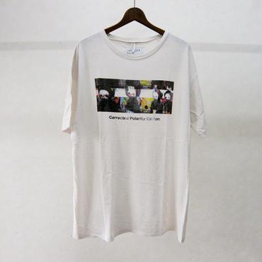 JUVENILE HALL ROLLCALL プリントTシャツ(白)