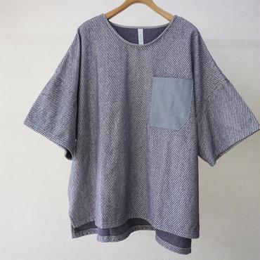 sneeuw パイルプルオーバー(grey)