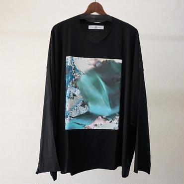 BALMUNG プリントビッグTシャツ(長袖・塗替)
