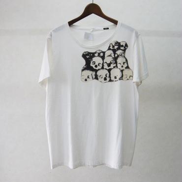 gilet 髑髏Tシャツ