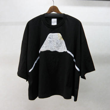 gilet 富士山BIG Tシャツ(ブラック)