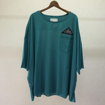 JUVENILE HALL ROLLCALL ボーダービッグTシャツ(GREEN)