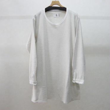 STORAMA キャンバスシャツスリーブプルオーバー(オフホワイト)