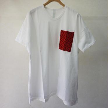 sneeuw ラッセルポケットTシャツ