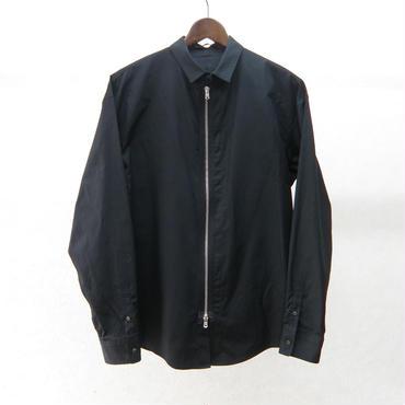 ato ジップシャツ(BLACK)