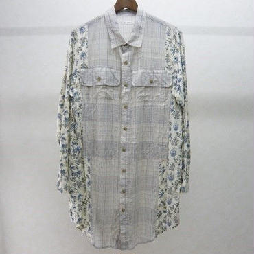 YEAH RIGHT!!  wide work shirt(botanical)