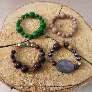 MIFUNE Frida bracelet(GREEN MIX)