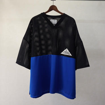 JUVENILE HALL ROLLCALL メッシュビッグT (BLUE)