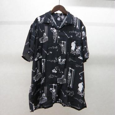 NOiSECRAFT go-mon s/sシャツ
