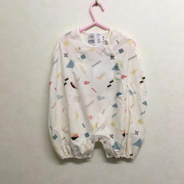 bedsidedrama × frankygrow エニーピースロンパース(WHITE)
