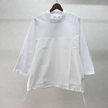 JUVENILE HALL ROLLCALL 切替7分袖カットソー(WHITE)