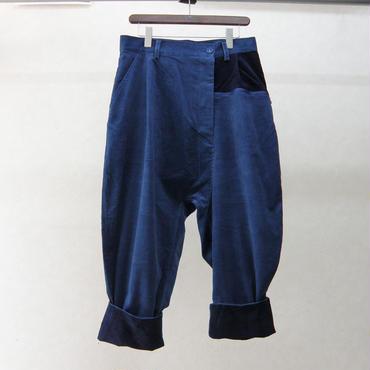 STORAMA キュレーターコーデュロイパンツ(BLUE)
