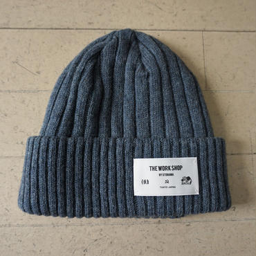 STORAMA SIMPLE WATCH CAP(BLUE)