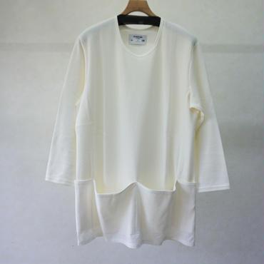 STORAMA APRON POCKET T-SHIRTS(WHITE)