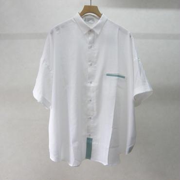 sneeuw ワイドシャツ(white)