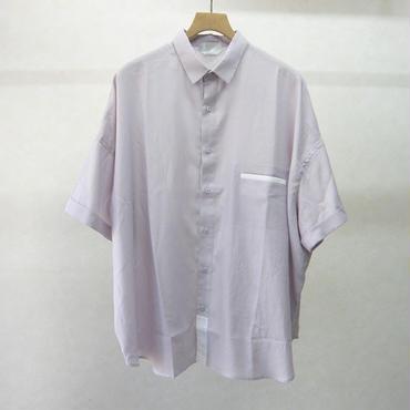 sneeuw ワイドシャツ(purple)