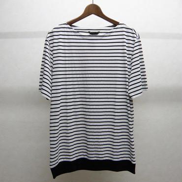 ato ボーダーTシャツ(WHITE×BLACK)