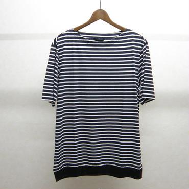 ato ボーダーTシャツ(NAVY×WHITE)