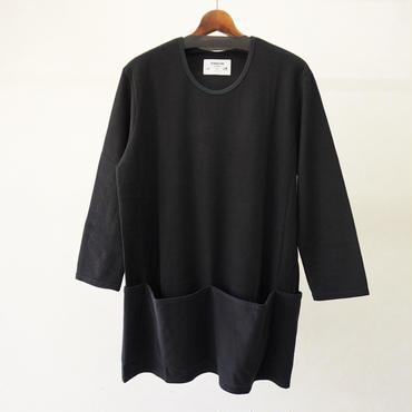 STORAMA APRON POCKET T-SHIRTS(BLACK)