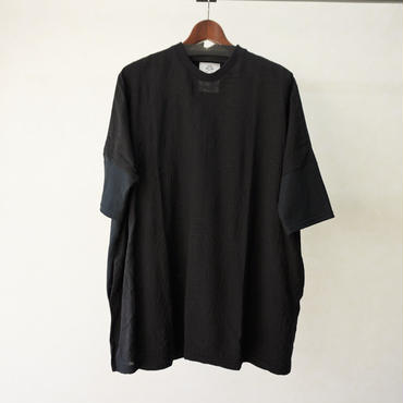 stof アーミッシュ刺繍Tシャツ(BLACK)