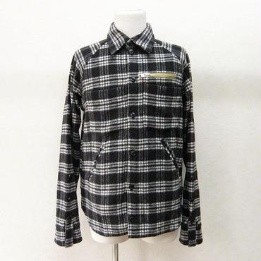 【処分SALE】banal chic bizarre ウールチェックシャツ