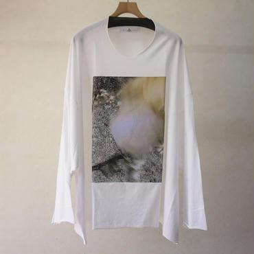 BALMUNG プリントビッグTシャツ(長袖・隙間)