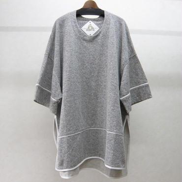 BALMUNG バックフラップビッグTシャツ(灰)