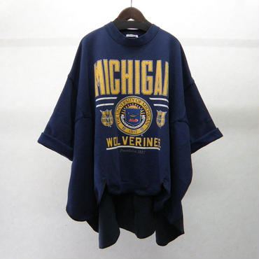 YEAH RIGHT!! RIPPLE WAVE HEM SWEATSHIRTS(REMAKE)