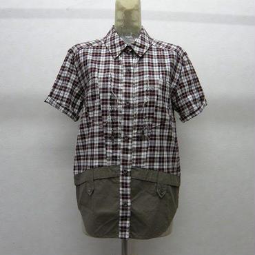 SHIROMA 半袖シャツ(チェック)