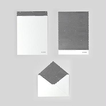 KADO レターセット B(六角)