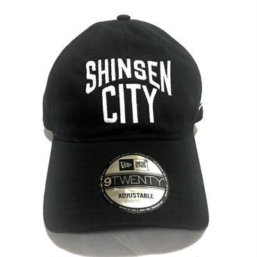 SINSEN CITYロゴキャップ(NEWERA)