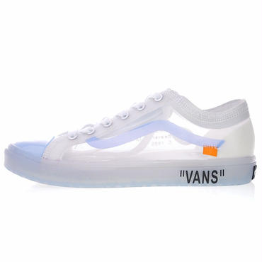 (バンズ) VANS★ OFF-WHITE x Vans Old Skoolスニーカー男女共用