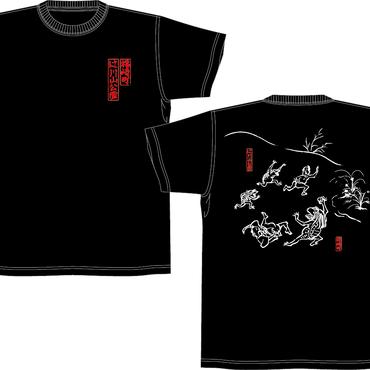 ガジロウTシャツ/ブラック