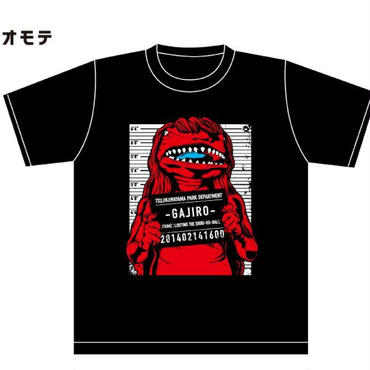 GAJIRO Tシャツ 赤