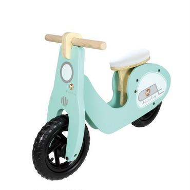 【masterkidz】Ride-on Scooter 木製ライドオンスクーターBLUE