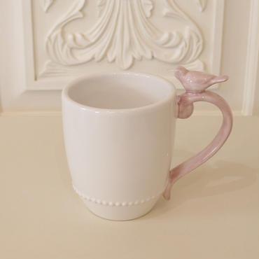ピンクバードマグカップ