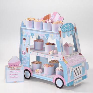 「トーキングテーブル」フードスタンド アイスクリーム