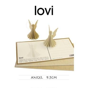 【ポストカード】 lovi(ロヴィ) エンジェル 天使 9.5cm