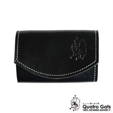 【極小財布】 クアトロガッツ ポキート ブラックベリー