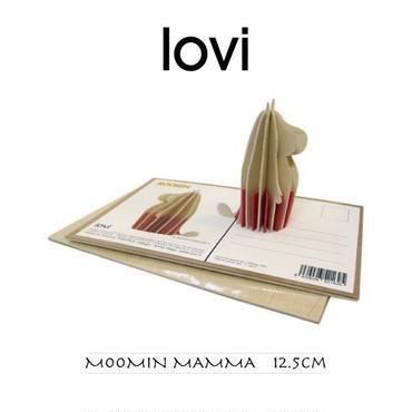 【ポストカード】 lovi(ロヴィ) ムーミン ママ 12.5cm