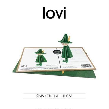 【ポストカード】 lovi(ロヴィ) スナフキン 11cm