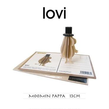 【ポストカード】 lovi(ロヴィ) ムーミン パパ 13cm
