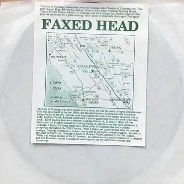 Faxed Head - Show Pride In Coalinga / The Colors Of Coalinga [EP][Coalinga]