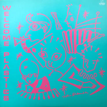 Plastics - Welcome Plastics [LP][Invitation]