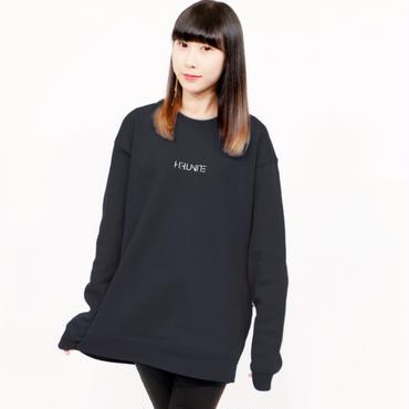 [トレーナー]HFU -Geometry logo-  刺繍Sweatshirts