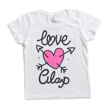 (CLAP)  LOVE-Cupid  Tee ホワイト