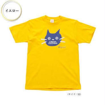(CREAM  CLOTHING)  Mignon Chat Tee イエロー