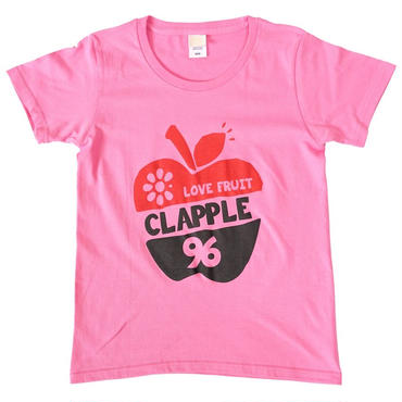 (CLAP)  CLAPPLE  Tee ピンク